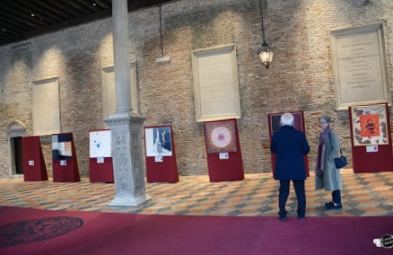 Arte e scienza, auspice il merletto, alla Scuola Grande San Marco di Venezia