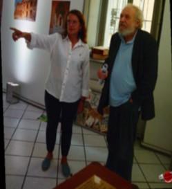 Museo della Poesia di Piacenza la mostra di Ale¬xandra Mitakidis