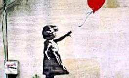 BANSKY, Girl with Balloon