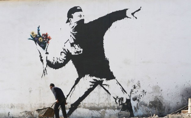 BANSKY, Love is in the Air