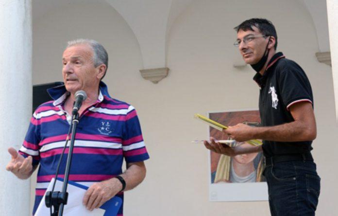 Enzo Santese e Maurizio Benedetti Festival della poesia del mare