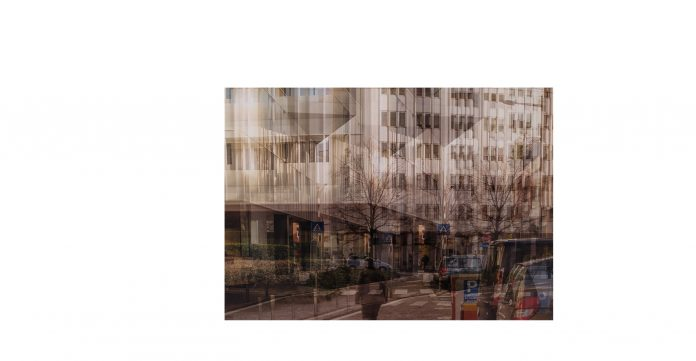 FRANCESCO MIRESSI, Poste, cm 30 x 45, stampa su carta seta, 2019